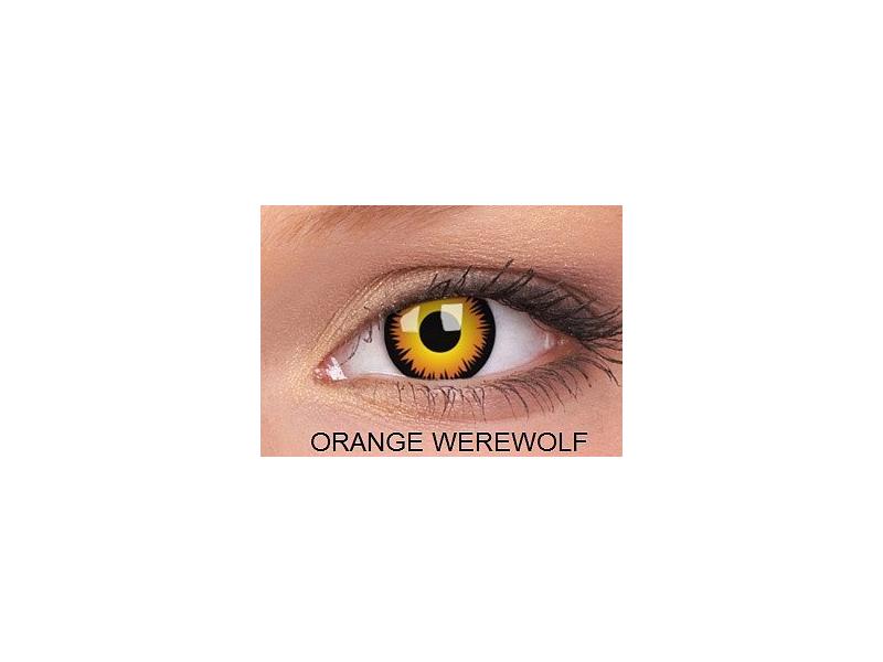 Crazy ColourVUE (2čočky) - Orange Werewolf