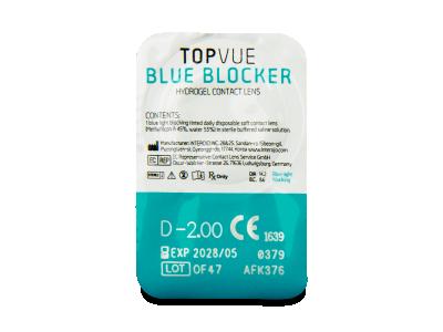 TopVue Blue Blocker (30 čoček) -