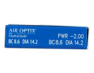 Air Optix plus HydraGlyde (6čoček)