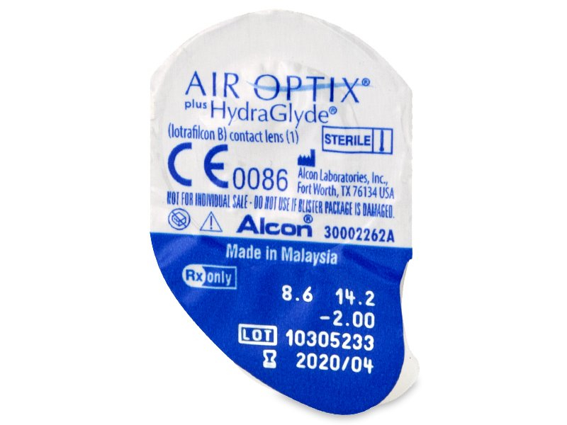 Air Optix plus HydraGlyde (6 čoček) -