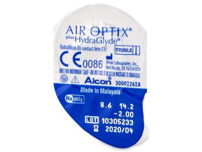 Air Optix plus HydraGlyde (3čočky) -