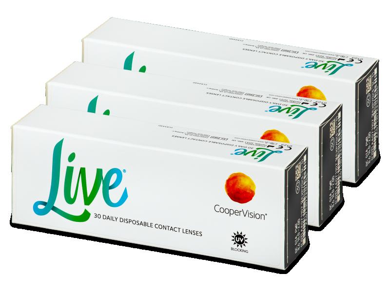 Live Daily Disposable (90 čoček)