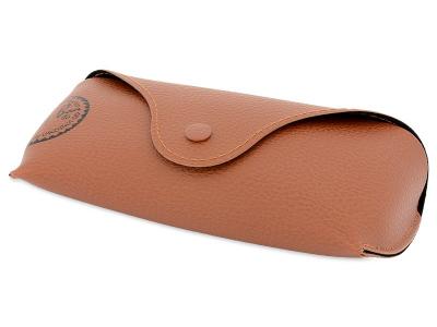 Ray-Ban Justin RB4165 - 865/T5 POL  - Original leather case (illustration photo)