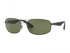 Obdélníkové sluneční brýle - Ray-Ban RB3527 - 029/9A POL