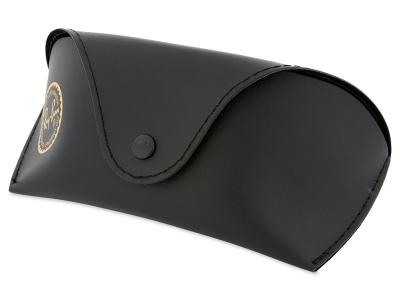 Ray-Ban RB4068 - 894/58 POL  - Original leather case (illustration photo)