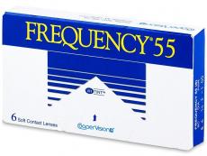 Kontaktní čočky levně - Frequency 55 (6čoček)
