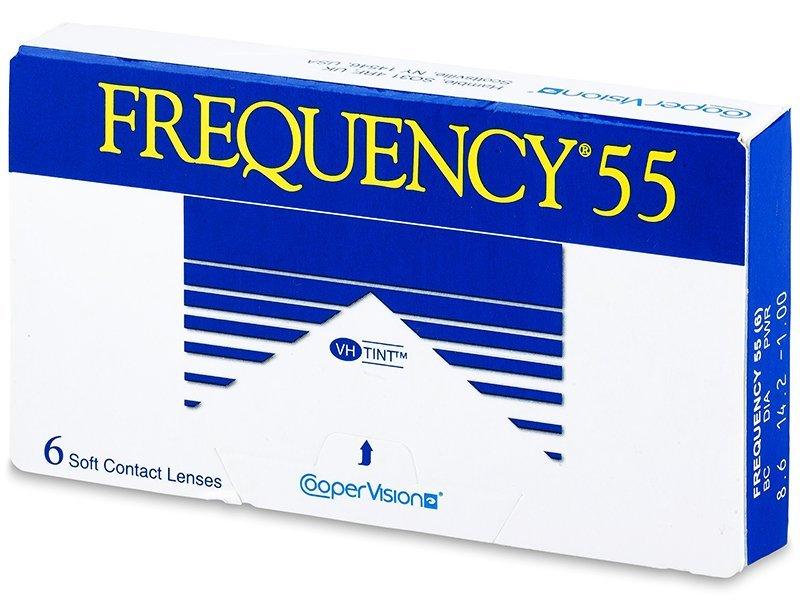 Frequency 55 (6čoček) - Měsíční kontaktní čočky