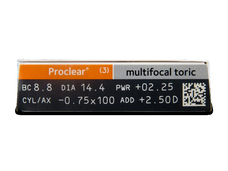 Proclear Multifocal Toric (3čočky) -
