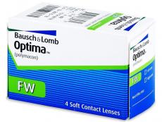 Kontaktní čočky Bausch and Lomb - Optima FW čtvrtletní (4 čočky)