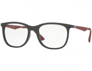 Čtvercové brýlové obroučky - Ray-Ban RX7078 - 5598