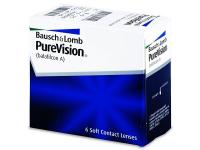 PureVision (6čoček) - Měsíční kontaktní čočky