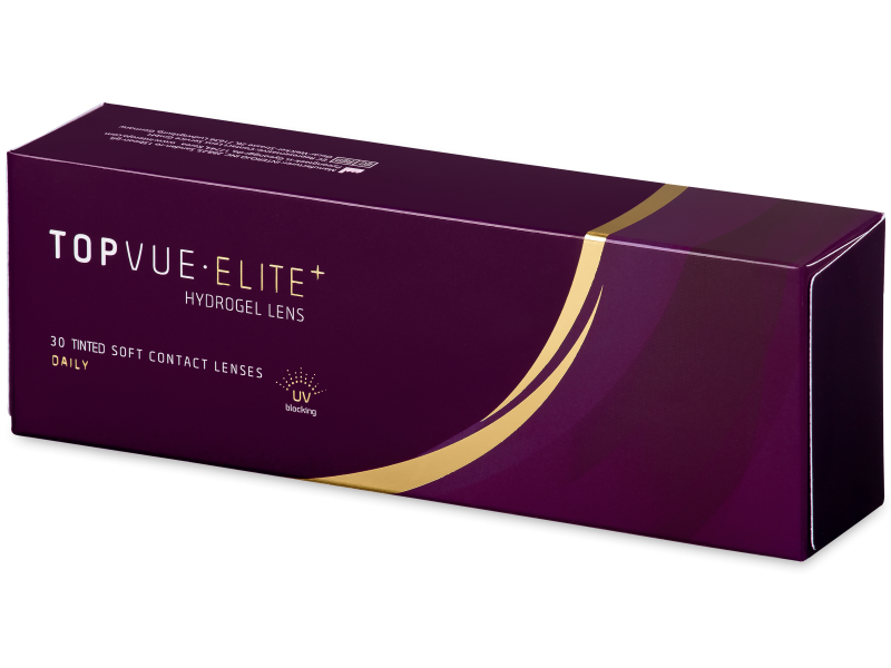 TopVue Elite+ (30 čoček) - Jednodenní kontaktní čočky