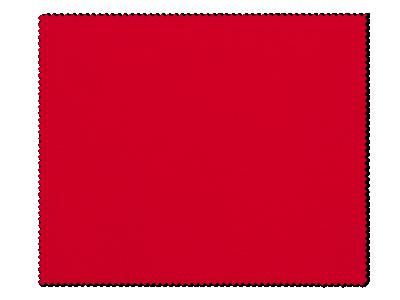 Čistící hadřík na brýle - červený