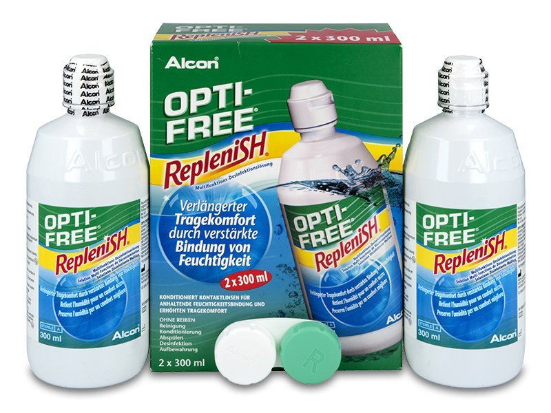 Roztok OPTI-FREE RepleniSH 2 x 300 ml