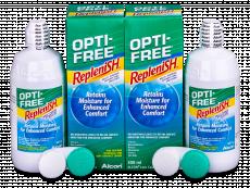 Roztok OPTI-FREE RepleniSH 2x300ml  - Economy duo pack- solution