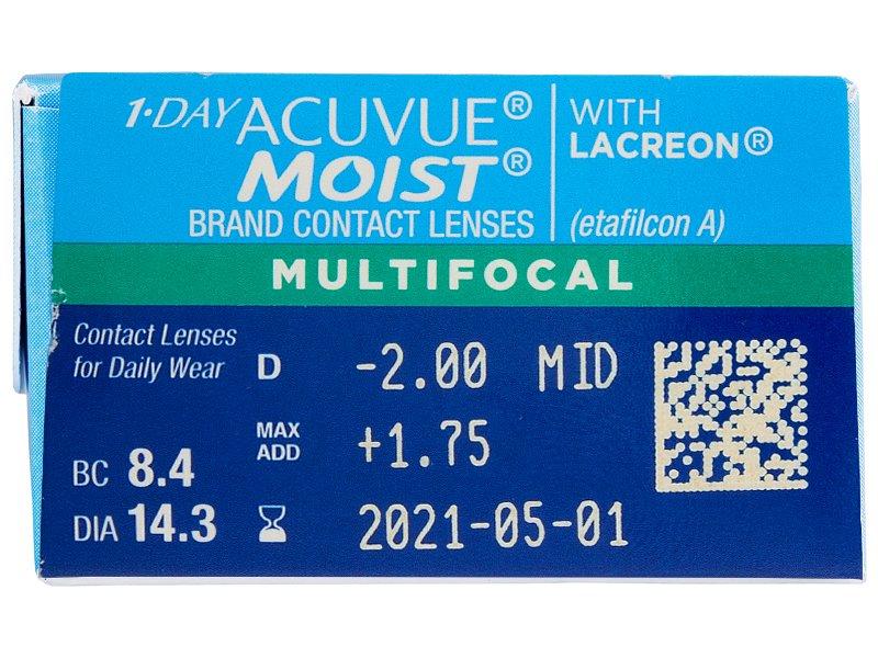 1 Day Acuvue Moist Multifocal (30 čoček) -