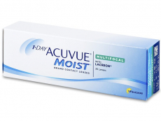 Kontaktní čočky Johnson and Johnson - 1 Day Acuvue Moist Multifocal (30 čoček)