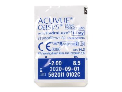 Acuvue Oasys 1-Day (30 čoček) -