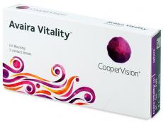 Čtrnáctidenní kontaktní čočky - Avaira Vitality (3 čočky)