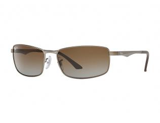 Obdélníkové sluneční brýle - Ray-Ban RB3498 - 029/T5