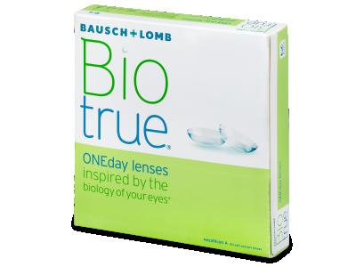 Biotrue ONEday (90čoček) - Jednodenní kontaktní čočky