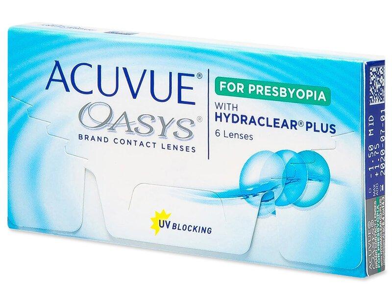 Acuvue Oasys for Presbyopia 6 čoček
