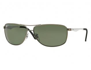 Obdélníkové sluneční brýle - Ray-Ban RB3506 - 029/9A