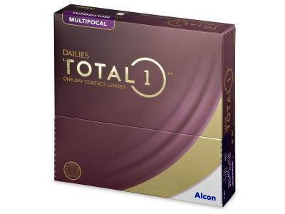 Dailies TOTAL1 Multifocal (90 čoček)