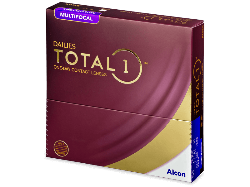 Dailies TOTAL1 Multifocal (90 čoček) - Multifokální kontaktní čočky
