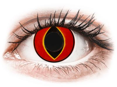 ColourVUE Crazy Lens - Mad Frog - nedioptrické (2 čočky)