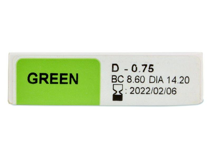 TopVue Color - dioptrické jednodenní (10 čoček) -