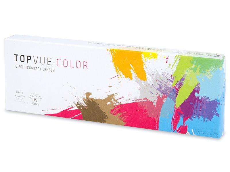 TopVue Color - dioptrické jednodenní (10 čoček) - Barevné kontaktní čočky