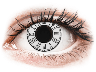 CRAZY LENS - Clock - nedioptrické jednodenní (2 čočky)