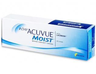 Kontaktní čočky 1 Day Acuvue Moist (30čoček)