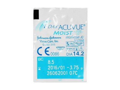 1 Day Acuvue Moist (30 čoček) -