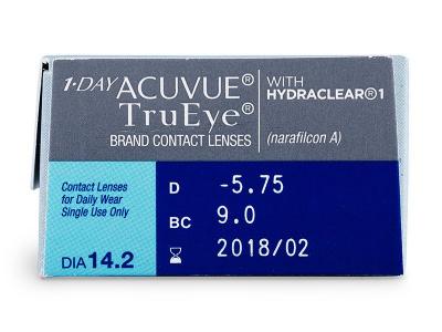 1 Day Acuvue TruEye (30čoček) -