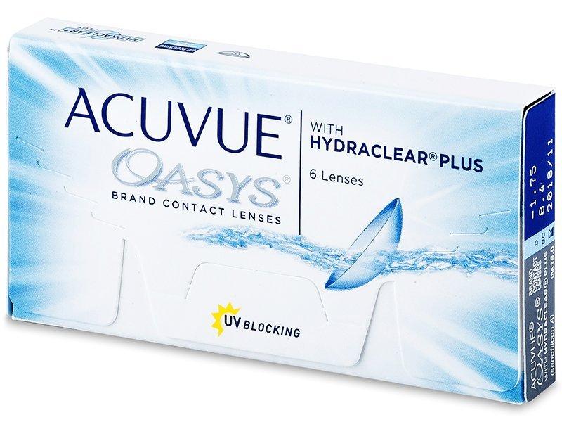 Čtrnáctidenní kontaktní čočky - Acuvue Oasys (6čoček)