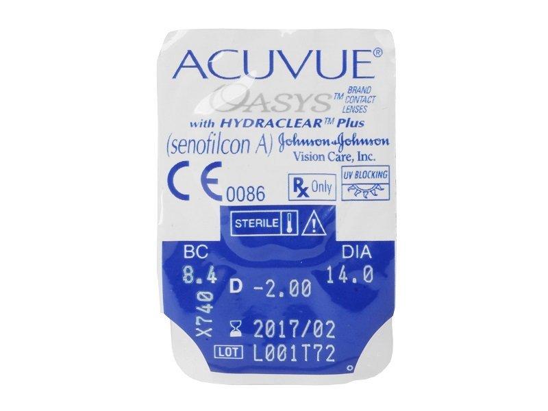- Acuvue Oasys (6čoček)