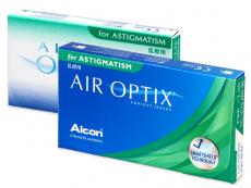 Torické (astigmatické) kontaktní čočky - Air Optix for Astigmatism (3čočky)