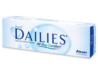 Focus Dailies All Day Comfort (30 čoček)