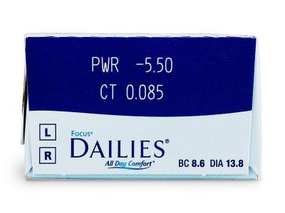 Focus Dailies All Day Comfort (30čoček) -