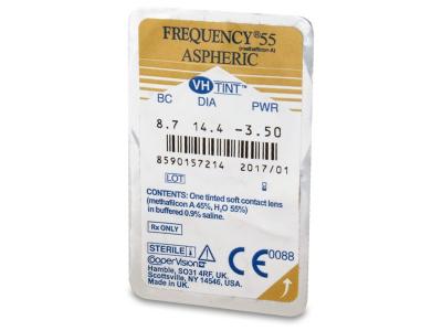 Frequency 55 Aspheric (6čoček) -