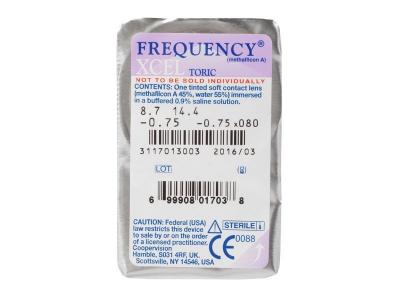 Frequency Xcel Toric (3čočky) -