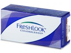 Barevné kontaktní čočky - FreshLook ColorBlends  - dioptrické (2čočky)