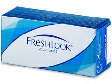 Barevné kontaktní čočky - FreshLook Colors - dioptrické (2čočky)