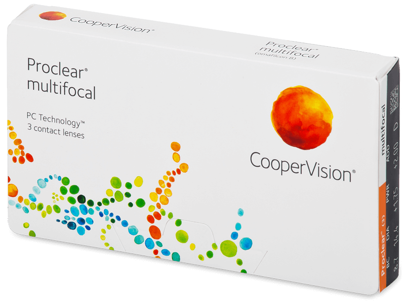 Proclear Multifocal (3čočky) - Multifokální kontaktní čočky