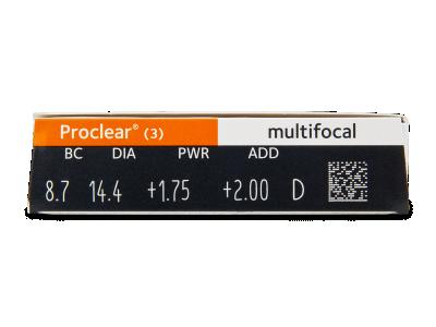 Proclear Multifocal (3čočky) -