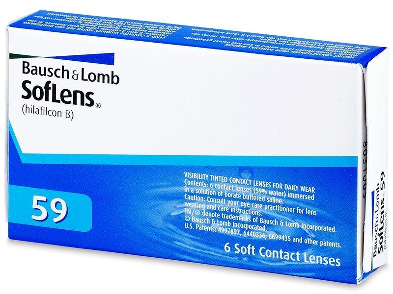 SofLens 59 (6čoček) - Měsíční kontaktní čočky