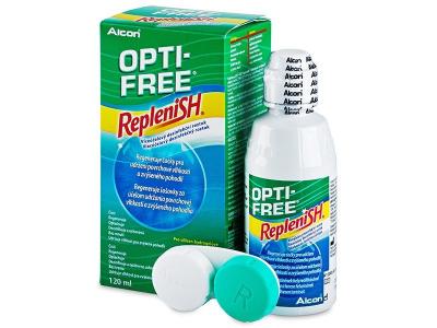 Roztok OPTI-FREE RepleniSH 120ml  - Čistící roztok