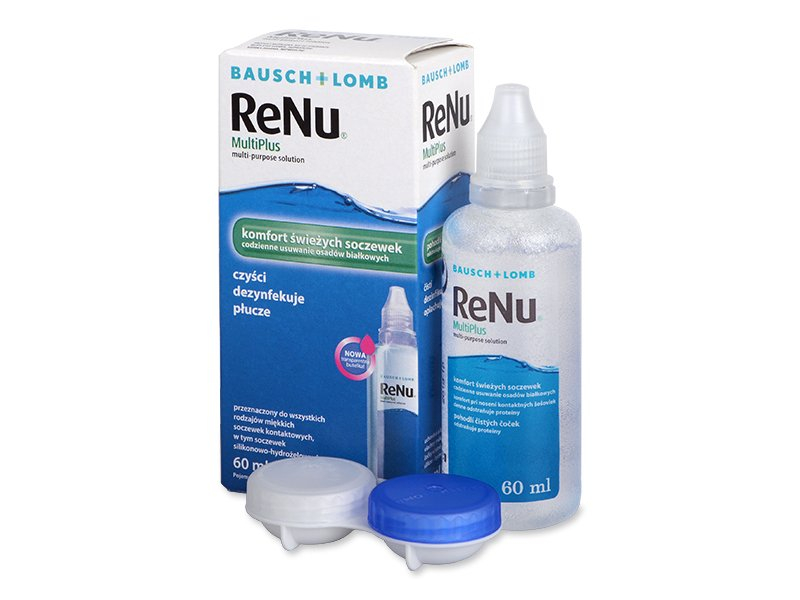 Roztok ReNu MultiPlus 60 ml